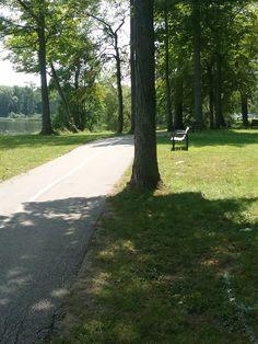 Tudhope Park, Orillia, Ontario Canada Travel, Georgian, Ontario, Cycling, Sidewalk, Southern, Park, Biking, Georgian Language