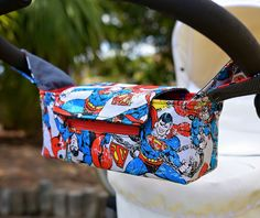 Pram Caddy/Pram Bag/Stroller Organiser/ by Muffyduckdesign on Etsy