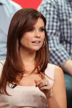 Actress Joanna Garcia-Swisher speaks onstage at the Animal Practice panel during day 4 of the NBCUniversal portion of the 2012 Summer TCA Tour held at the Beverly Hilton Hotel on July 24, 2012 in Beverly Hills, California.