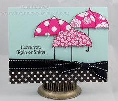 I Love You Rain or Shine card