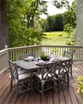 POLYWOOD® Chippendale 7-Piece Dining Set POLYWOOD® Outdoor Furniture Collection The POLYWOOD Chippendale 7-PIece Dining Set makes a beautiful presentation for your outdoor dining