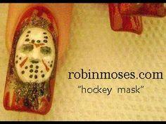 Shellac Nail Art, Nail Art Diy, Hockey Nails, Tattoo Designs, Nail Designs, Robin Moses, Nail Art Videos, Oval Nails, Hot Nails