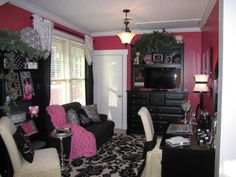 Super Bedroom Colors For Women Girl Cave Ideas Girl Cave, Woman Cave, Babe Cave, Teenage Girl Bedrooms, Girls Bedroom, Bedroom Colors, Bedroom Decor, Bedroom Ideas, Monster High Bedroom