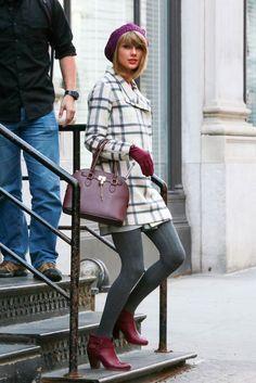 Taylor Swift Street Style - Taylor Swift Fashion Pics