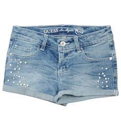Short Bleu délavé ♥ (taille: 14 ans) pour 77 euros