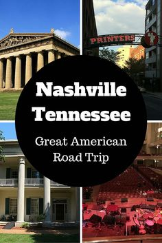 Things to do in and near Nashville Tennessee from the Great American Road Trip - AmateurTraveler.com