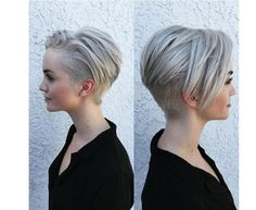 Short Shaved Hairstyles Gorgeous Bob With Hidden Undercut On Side And Back Eliminates Neck Hair