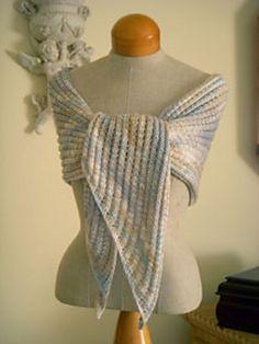 Free Pattern: Sky Wrap Scarf by Cheryl Olson