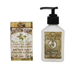 Lillie May Naturals Southern Charm Cranberry Pomegranate Goat Milk Soap and Lotion Gift Set * Wow! I love this. Check it out now! : Travel Skincare