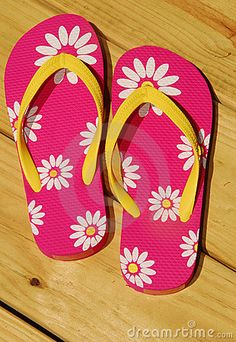 cdbaf220ddcab5 Can t wait for summer to put these on... Pink Flip Flops