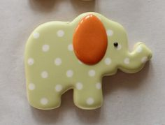 decorated baby cookies | dry, the cookie should stand. These make a great addition to cookie ...