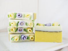 Sweet Meyer Lemon Soap Spring Mother's Day Easter by SimplyMcGhie, $4.00