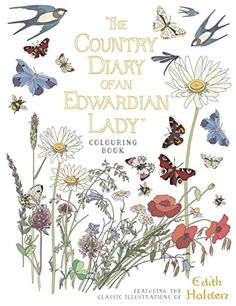 The Country Diary of an Edwardian Lady Colouring Book - https://tryadultcoloringbooks.com/the-country-diary-of-an-edwardian-lady-colouring-book/ - #AdultColoringBooks, #StressRelief