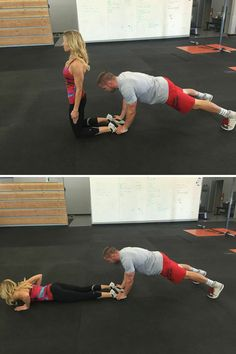 Couple's Workout: Glamour.com                                                                                                                                                                                 More