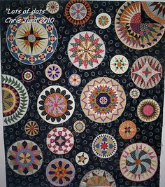 lovely circle quilt