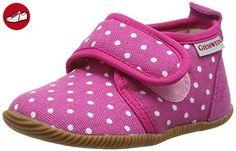 Giesswein Stans - Slim Fit, Mädchen Hohe Hausschuhe, Pink (himbeer-364), 22 EU - Kinder sneaker und lauflernschuhe (*Partner-Link)