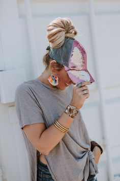 Bohemian Hats And Accessories Cute Baseball Hats, Baseball Cap Outfit, Twins Baseball, Baseball Field, Boho Outfits, Cute Outfits, Kurti With Jacket, Hats For Women, Clothes For Women