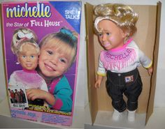 Talking Michelle doll from Full House | 25 Dolls From '90s TV Shows You'll Never Play With Again