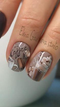 Vintage Nails, Colorful Nail Designs, Nail Colors, Nailart, Manicure, Hair Beauty, French, Ideas, Fashion