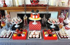 MICKEY MOUSE DESSERT TABLE by Half Baked Co.