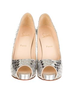 Christian Louboutin Mirror Pumps - Shoes - CHT22830 | The RealReal