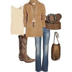 Classy Casual Cowgirl :)