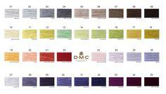 Nowe kolory w palecie DMC