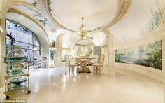 Brigitte Bardot's former Parisian love nest  goes on the market for £5.1million... featuring its very own disco room