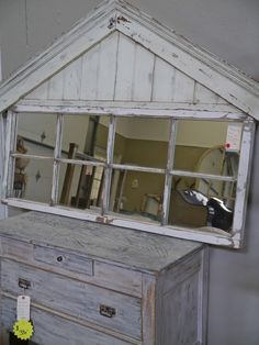 Large Mirrored Window