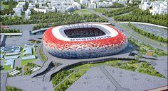 Los estadios donde se jugará el Mundial de Rusia 2018