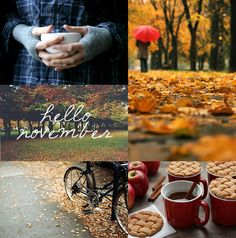 "(Source: Pinterest ) "" November comes And November goes, With the last red berries And the first white snows. With night coming earl..."