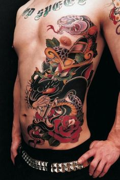 Japanese Traditional Tattoo's. | Traditional/manga style tattoos by Genko