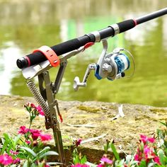 Staffa di pesca automatica👇myalleshop Best Fishing, Fishing Tackle, Fishing Rod Case, Fishing Rods, Fish Stand, Rod Rack, Tip Ups, Stainless Steel Rod, One Fish