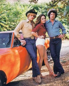 The Dukes of Hazzard - this was my tv family!  Daisy Duke was like a pretty tom…