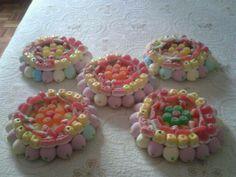 6 tartas pequeñas