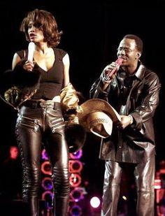 Whitney & Bobby #TheVoice #whitneyhouston