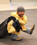 Illusion costume ideas - Homemade Tiny Fisherman Costume