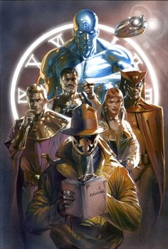 Watchmen 20 Anni Dopo Cover,Gabrielle Dell'Otto Comic Art