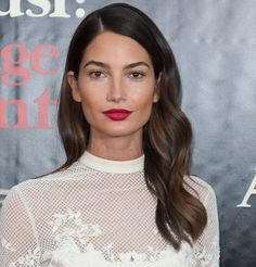 Lily Aldridge ... #hair #makeup everything perfect! #lilyaldridge