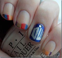 Doctor Who  #nail #nails #nailart