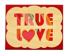 true love by Night Owl Paper Goods -