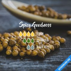 Spicy Goodness — Essential Oil Diffuser Blend