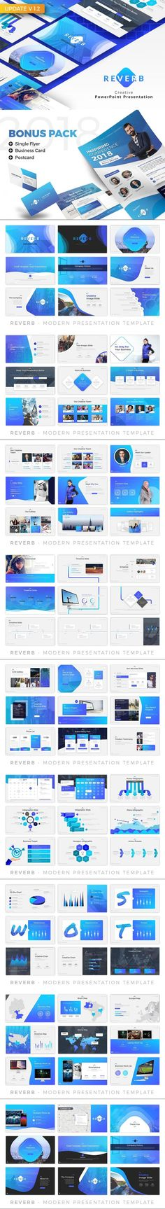Reverb - Business Presentation #minimalistic #welcome #chart #theme #typography #design #infographic #maps #trendy #presentation #jet #company #PresentationTemplate #vehicle #slides #presentation #drag #retina #lookbook Business Presentation Templates, Presentation Design, Social Media Impact, Office Themes, Postcard Template, Charts And Graphs, Icon Pack, Project Management, Light In The Dark