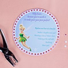 Disney Mother's Day Punch-Out Gift Cards Printable