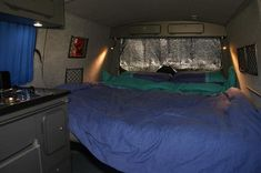 Ron, finally converted. | VW T4 Forum - VW T5 Forum Vw Transporter Van, Vw T5 Forum, Bike Cover, Kitchen Units, Under Bed Storage, Tent Camping, Campervan Ideas, Home Decor, Kitchen Furniture