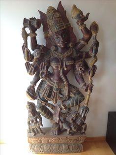 Shiva wodden