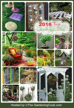 Dozens of creative gardening ideas. My favorites from 2016