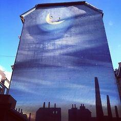 Backyard, Værnedamsvej, Copenhagen. #streetart #allgoodthings #danish spotted by @missdesignsays