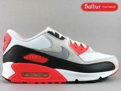 Nike Air Max 90 Classic White/Cement $95