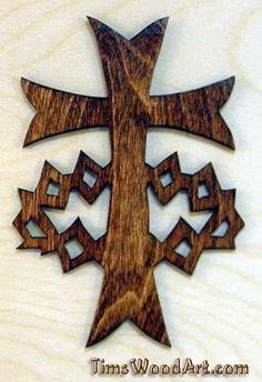 Crown of Jesus Cross, Handmade Cross for Wall Hanging or Ornament, Item S3-10